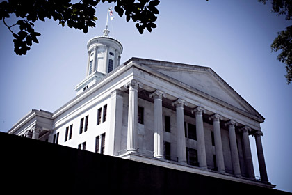Tennessee state capital building